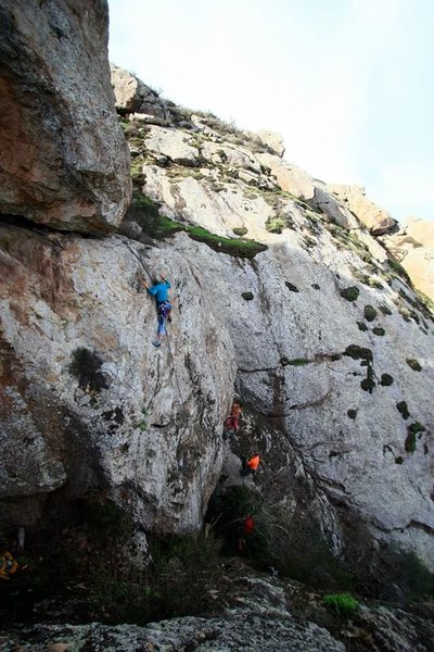 Rock Climbing Photo: Freesolo