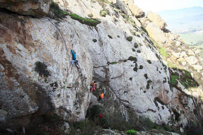 Rock Climbing Photo: Freesolo