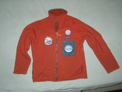 Rock Climbing Photo: My original rust colored Patagonia fleece jacket,,...