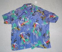 Rock Climbing Photo: My priceless 'Hawaiian' shirt by  Chouinard/Patago...