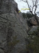 Rock Climbing Photo: Sneakers approach