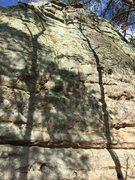Rock Climbing Photo: First Beginning
