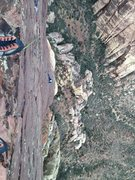 Rock Climbing Photo: At the top.  This is one of my favorite climbs eve...