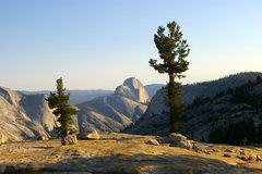 Rock Climbing Photo: Awesome twilight view of the Valley and Half Dome ...