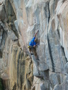Rock Climbing Photo: BS on the opening 12b section.