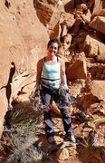 Rock Climbing Photo: Long Canyon, Moab, Utah :-)
