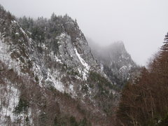 Rock Climbing Photo: Driving into Dixville Notch from the East (from Er...