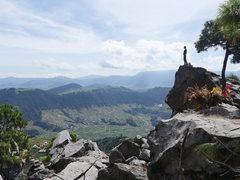 Rock Climbing Photo: Adjacent to El Arete and La Chocolatada.