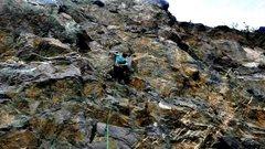 Rock Climbing Photo: party world