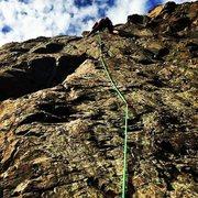 Rock Climbing Photo: hide it from the cops - seward hwy