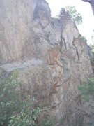 Rock Climbing Photo: Looking towards the Mundo Perdido section. Undevel...