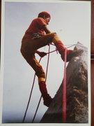 Rock Climbing Photo: Historic photo of Cerro Quemado pioneer Miguel Ara...