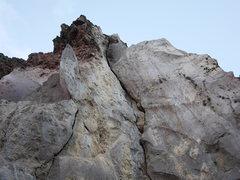 Rock Climbing Photo: Undeveloped area of Cerro Quemado.