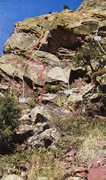 Rock Climbing Photo: Start to Rosy I.