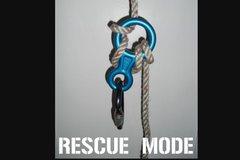 Rock Climbing Photo: rescue mode