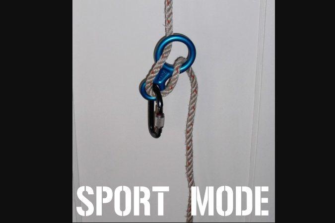 Rock Climbing Photo: sport mode
