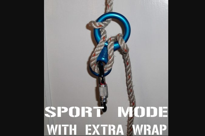 sport mode with extra wrap