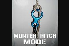 Rock Climbing Photo: munter hitch mode