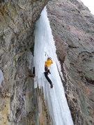 Rock Climbing Photo: P2 curtain.