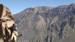Bouldering in Peru