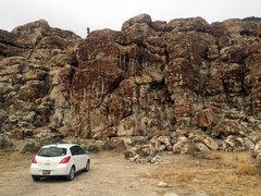 Rock Climbing Photo: Brutal approach.