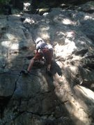 Rock Climbing Photo: Bryce Spradlin on Gateway Crack