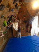 Rock Climbing Photo: Family climbing time