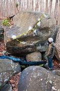 Rock Climbing Photo: Before the Storm V7 at Nockamixon.