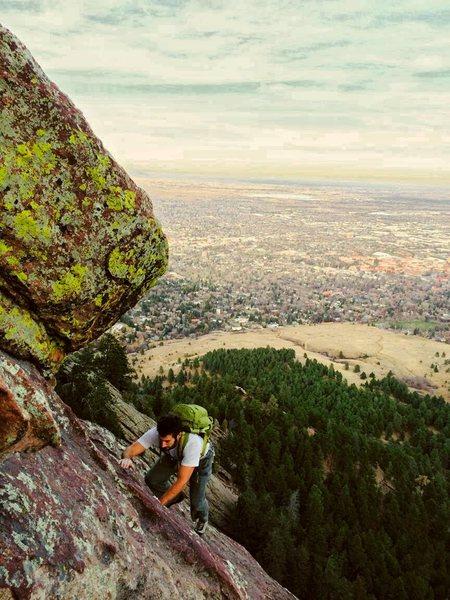 Rock Climbing Photo: 1st Flatiron