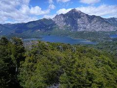 Rock Climbing Photo: cerro lopez as seen from cerro llao llao hike. the...