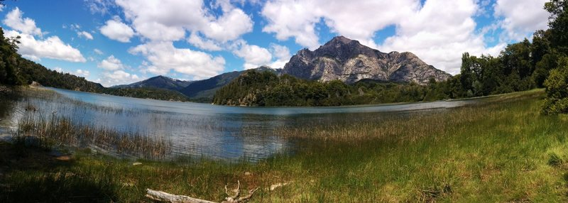 cerro lopez from across the on the llao llao hike