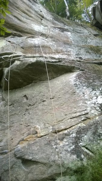 Rock Climbing Photo: North Ben wv