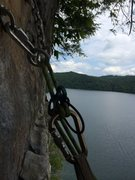 Rock Climbing Photo: Summersville lake wv