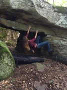 Bouldering at the aac
