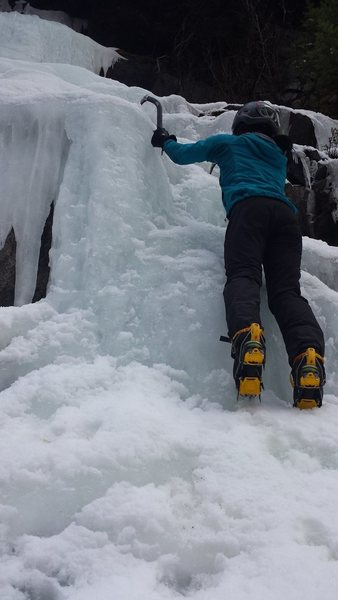 Here is my ass.  Darn no ice leads :(....yet