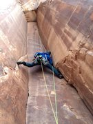 Rock Climbing Photo: Brian Prince leading P1 5.11