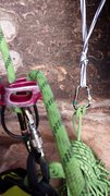 Rock Climbing Photo: Pitch One Belay