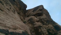 Rock Climbing Photo: Leading P5