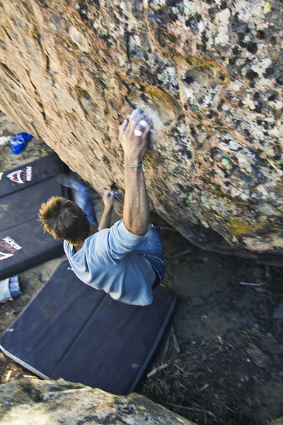 Rock Climbing Photo: Pine Mountain, Picnick area