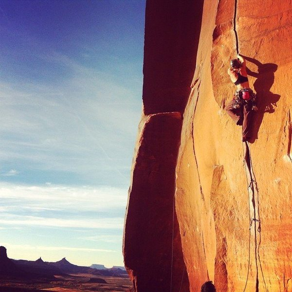 Rock Climbing Photo: Scarface. 'Nuff said.