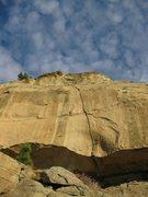 Rock Climbing Photo: Little Eagle Feather 5.hard