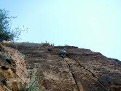 Rock Climbing Photo: 3rd ptich