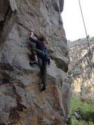 Rock Climbing Photo: Jordan Otto on Axis Of Evil 5.10+ Tick Rock Pacifi...