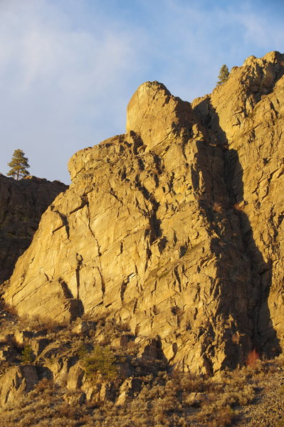 Adam's Rib of the Right Side of SW Buttress (left side)