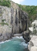 Rock Climbing Photo: The Zawn area.