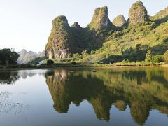 Rock Climbing Photo: 20,000 towers in Yangshou.