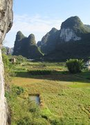 Rock Climbing Photo: View from top of Swiss Cheese.