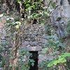 Entrance to Treasure Cave crag.