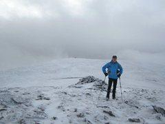 Rock Climbing Photo: On Blencathra Mt,Boxing Day 26th Dec 2014