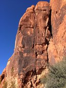 Rock Climbing Photo: Thank the rock gods